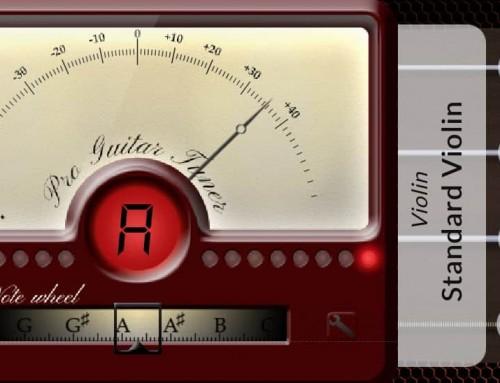Online Mandolin Tuner, with microphone