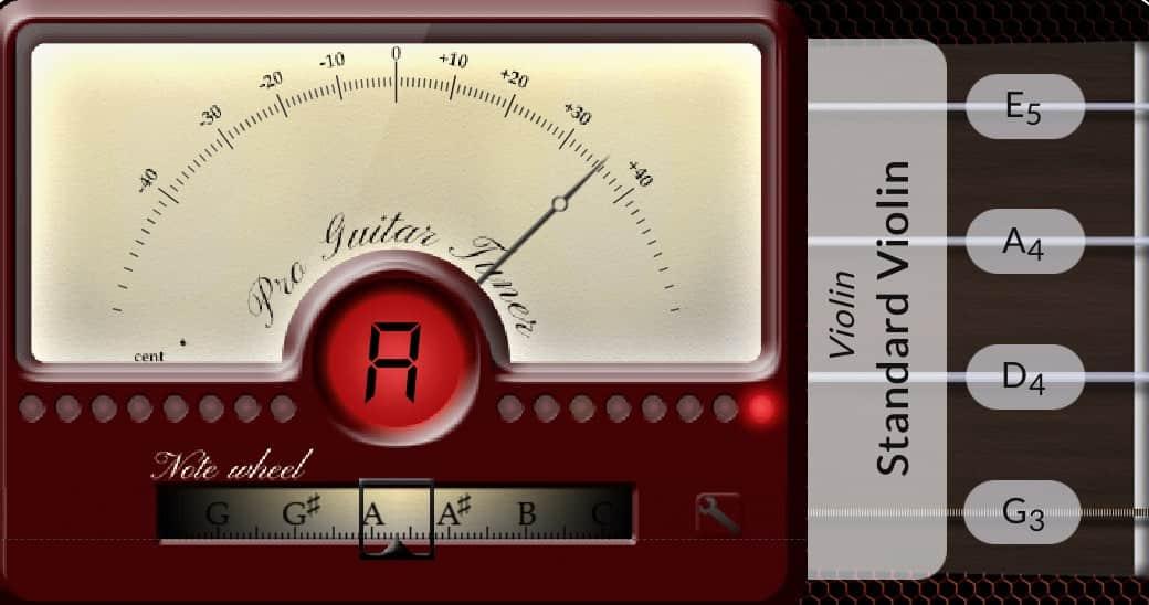 Online Mandolin Tuner