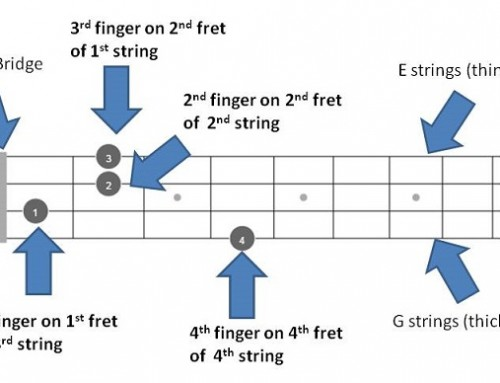 B mandolin Chords – Quick Reference of all chords