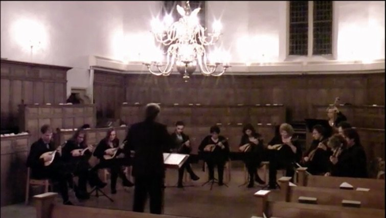 Raffaele Calace – MAZURKA performed by the Mandolin Chamber Orchestra Het CONSORT