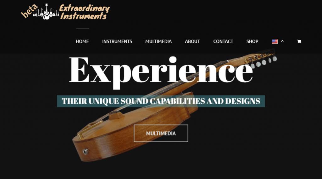 Mandolinist Christos Rizos Extraordinary Instruments