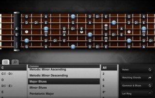 Guitar toolkit on iPad