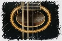 Mandolin Parts - Mandolin soundhole oval