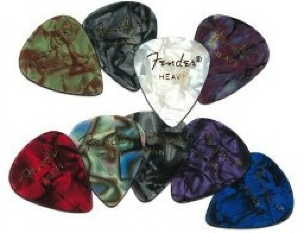 Fender 351 Premium Celluloid Guitar Picks