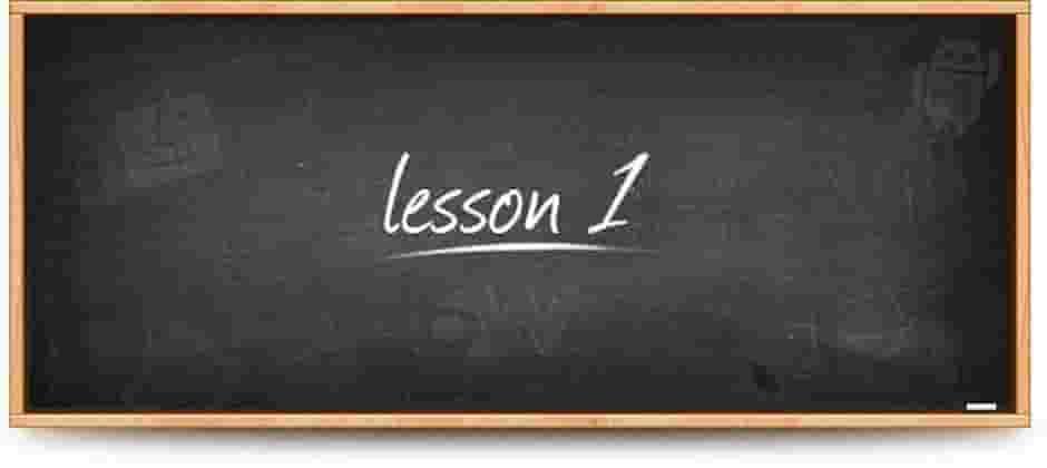 mandolin lesson 1