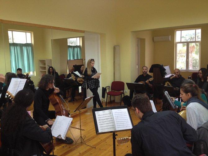 Mandolinarte rehearsal