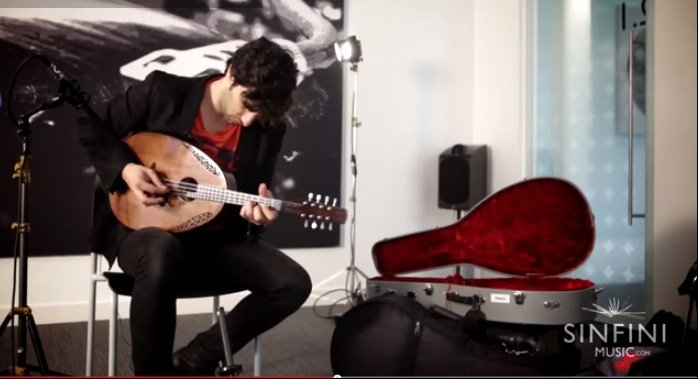 Avi Avital performs Bach's Solo Cello Suite 1 for mandolin [Sinfini Session] Video - YouTube.clipular