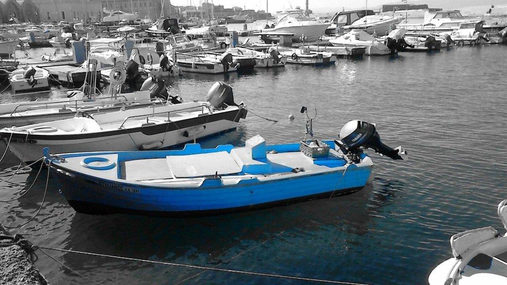 Old boat at Chania