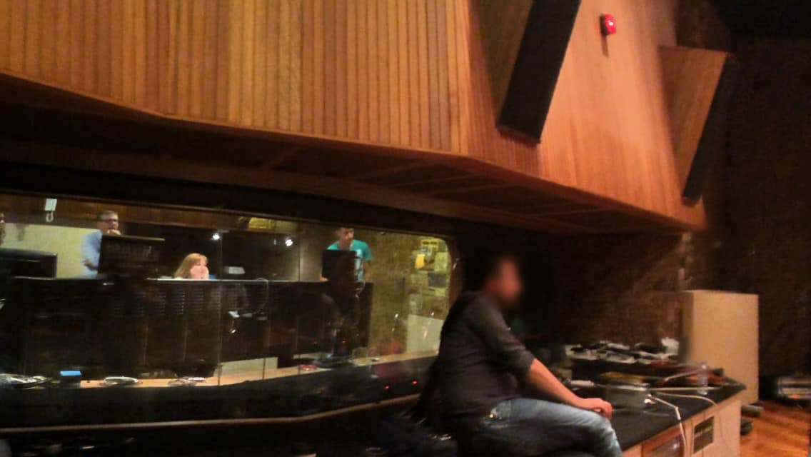 Recording with Elli Paspala
