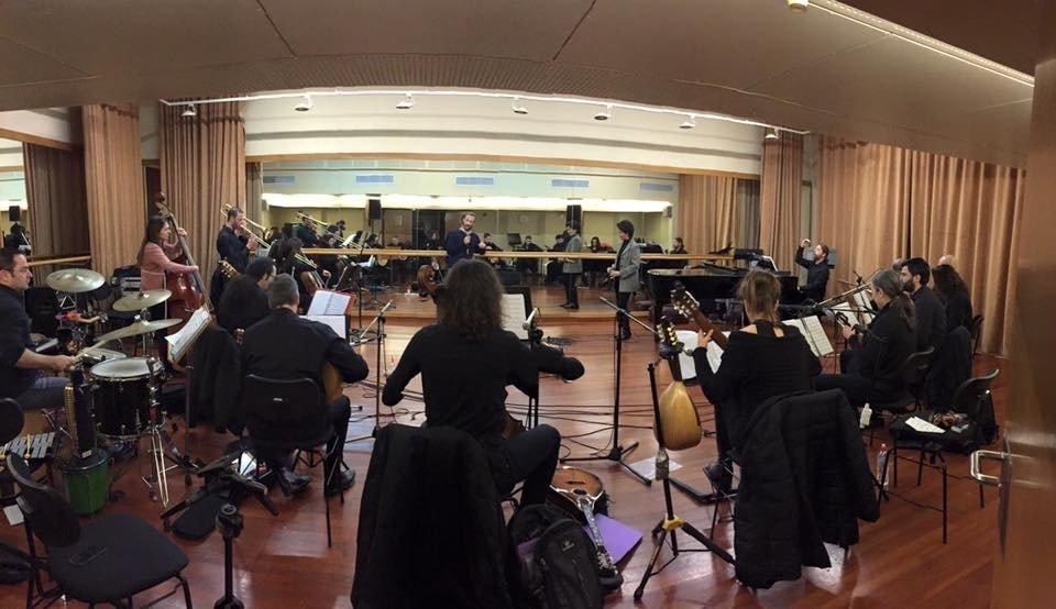 Rehearsal with MandolinARTE