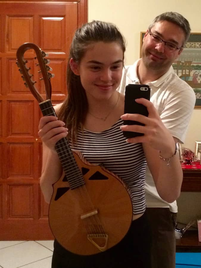 Alexandra with Lead Mandolin from Richard Morgan