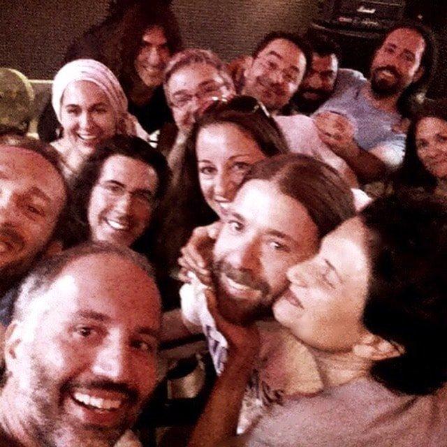 Selfie with mandolinarte and alkistis protopsalti