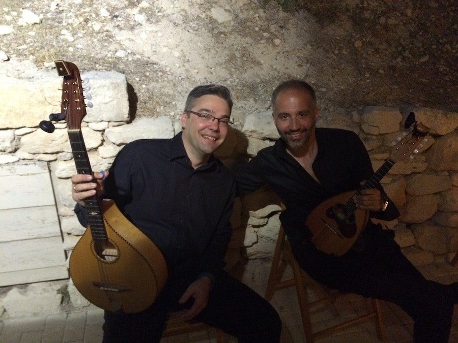 MandolinARTE & Alkistis Protopsalti -Christos and Yannis Rizos, ready for action