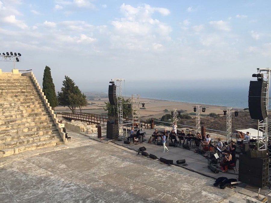 MandolinARTE & Alkistis Protopsalti - Kourio Ancient theater