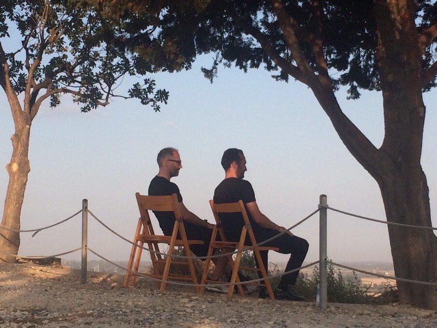 MandolinARTE & Alkistis Protopsalti - Relaxing at Kourio