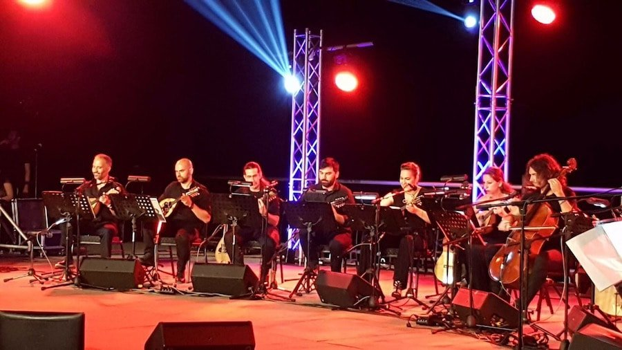 MandolinARTE & Alkistis Protopsalti on stage