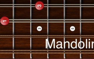 G minor chords mandolin