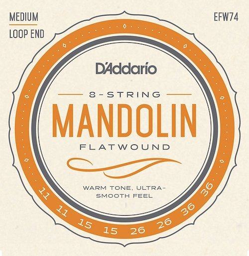 Mandolin Strings daddario flatwounds