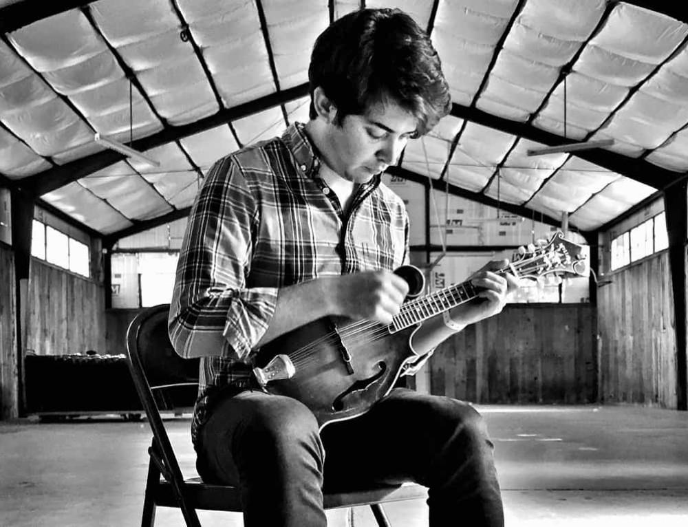 Tristan Scroggins – An award winning mandolinist (DB64)