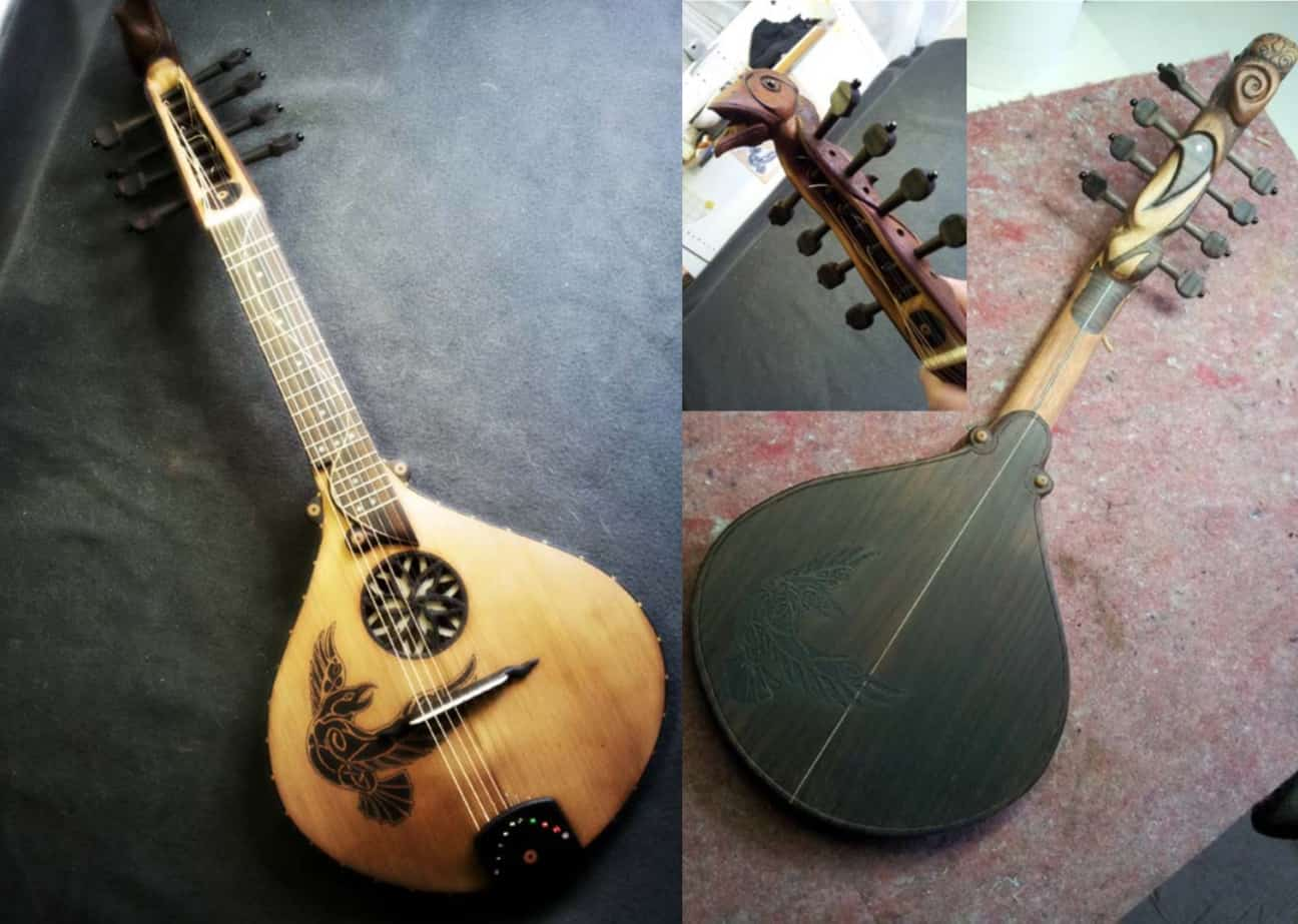 Cittern Anglaise by Erik Houtman