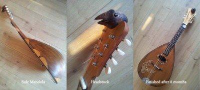 Building a Neapolitan mandolin