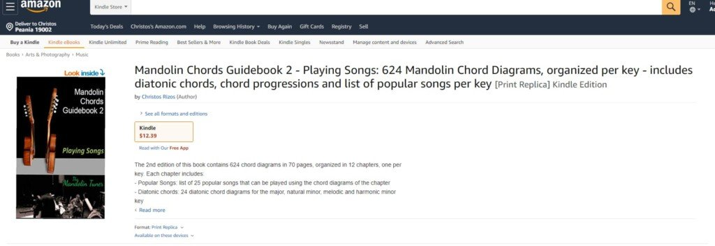 Mandolin Chords on Amazon